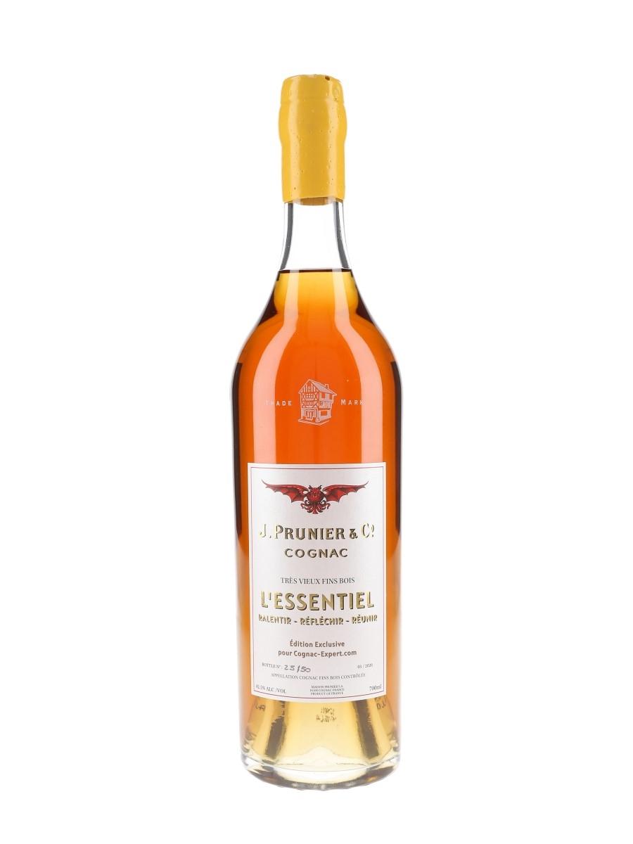 Prunier L'Essentiel Ralentir, Reflechir, Reunir Bottled 2020 - Cognac-Expert.com 70cl / 42.5%
