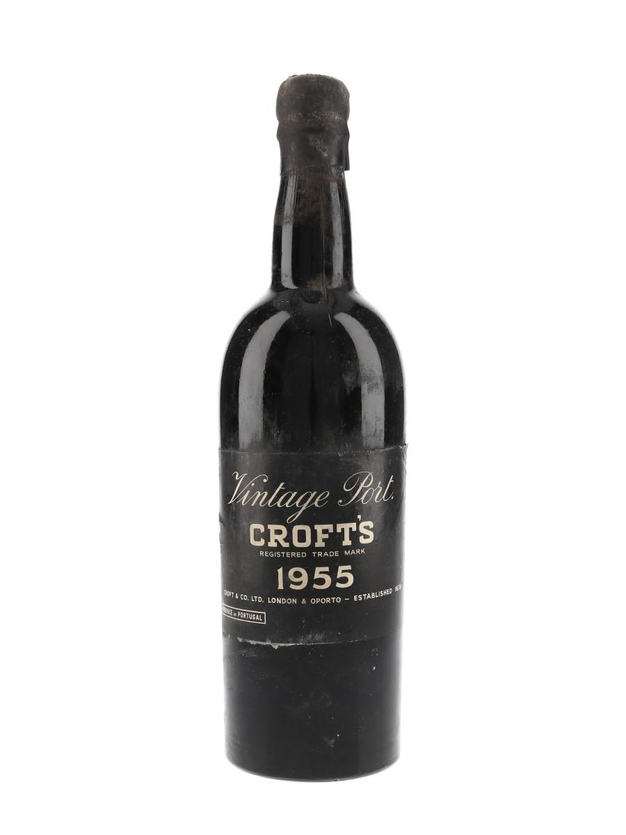 Croft's 1955 Vintage Port  75cl