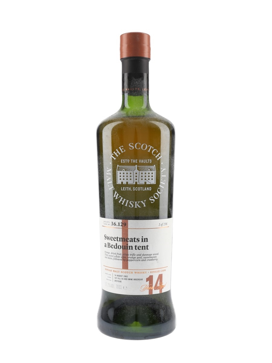SMWS 36.129 Sweetmeats In A Bedouin Tent Benrinnes 2002 14 Year Old 70cl / 57.2%