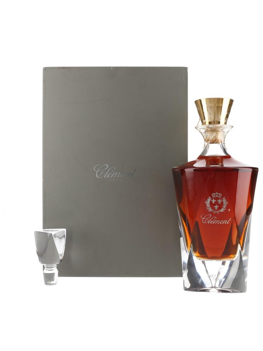 Clement Rhum Carafe Cristal  70cl / 44%
