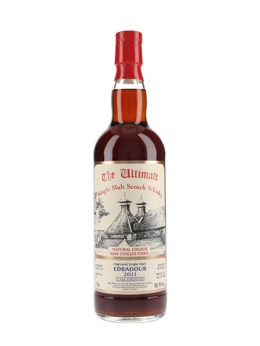 Edradour 2011 9 Year Old Cask 23 Bottled 2020 - The Ultimate Whisky Company 70cl / 58.5%