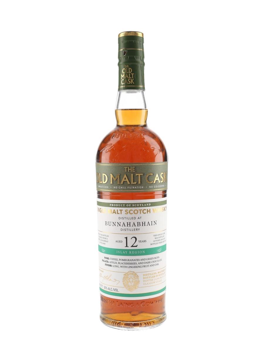 Bunnahabhain 2005 12 Year Old The Old Malt Cask Bottled 2018 - Hunter Laing 70cl / 50%