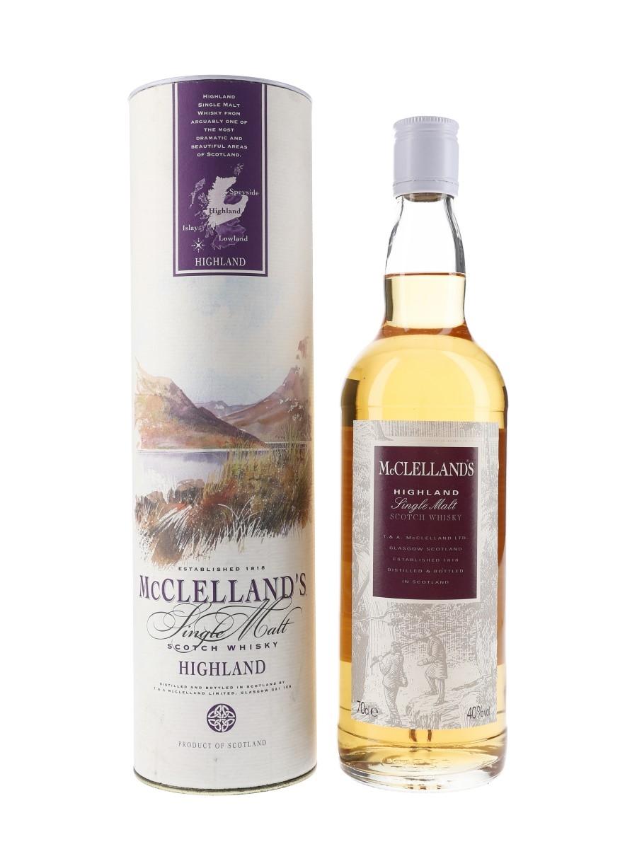 McClelland's Highland Single Malt  70cl / 40%