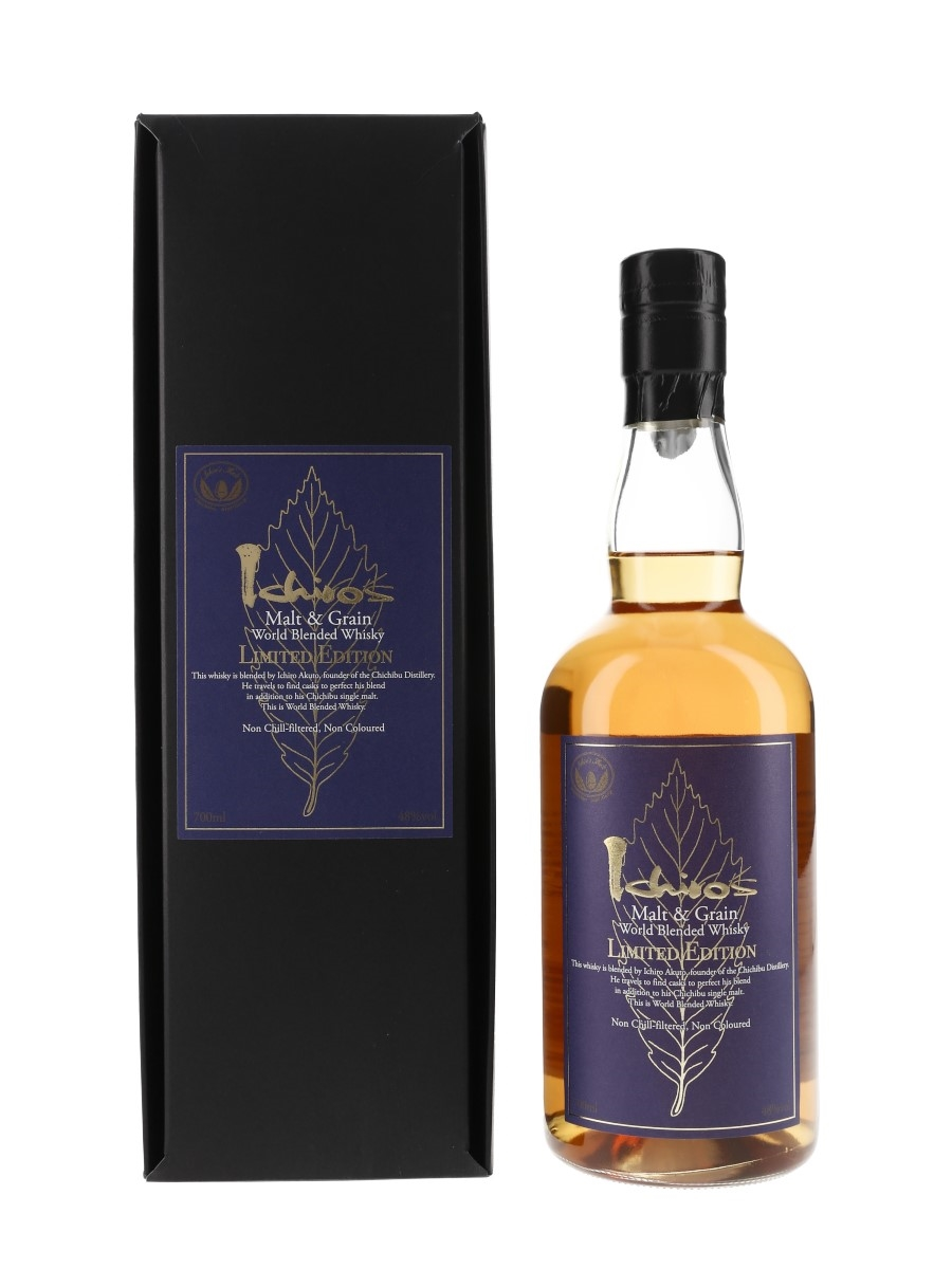 Ichiro's Malt & Grain World Blended Whisky Limited Edition - Speciality Drinks 70cl / 48%