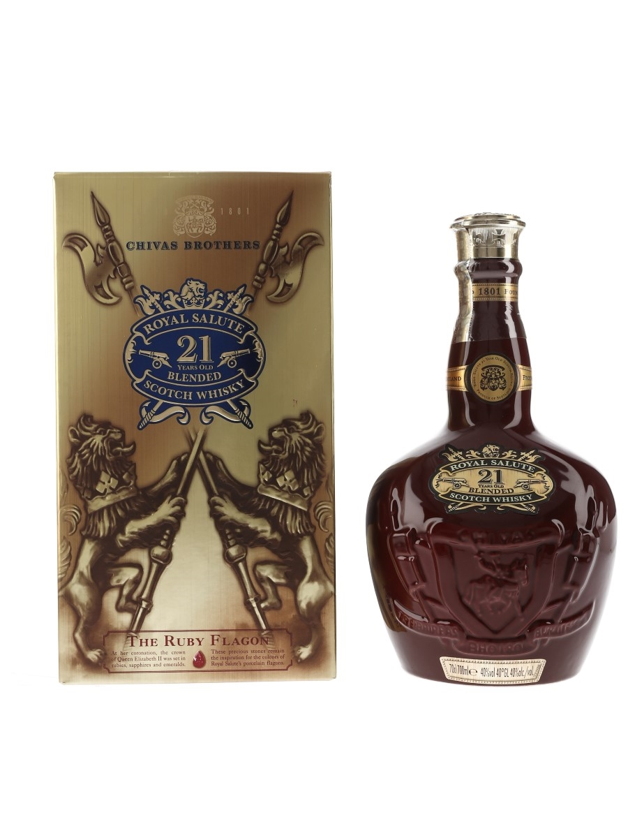 Royal Salute 21 Year Old Bottled 2012 - The Ruby Flagon 70cl / 40%