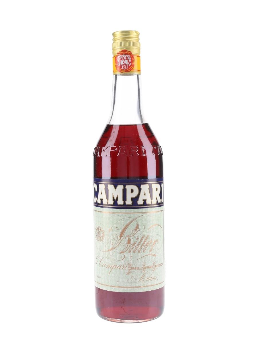 Campari Bitter Bottled 1990s - Germany 70cl / 25%