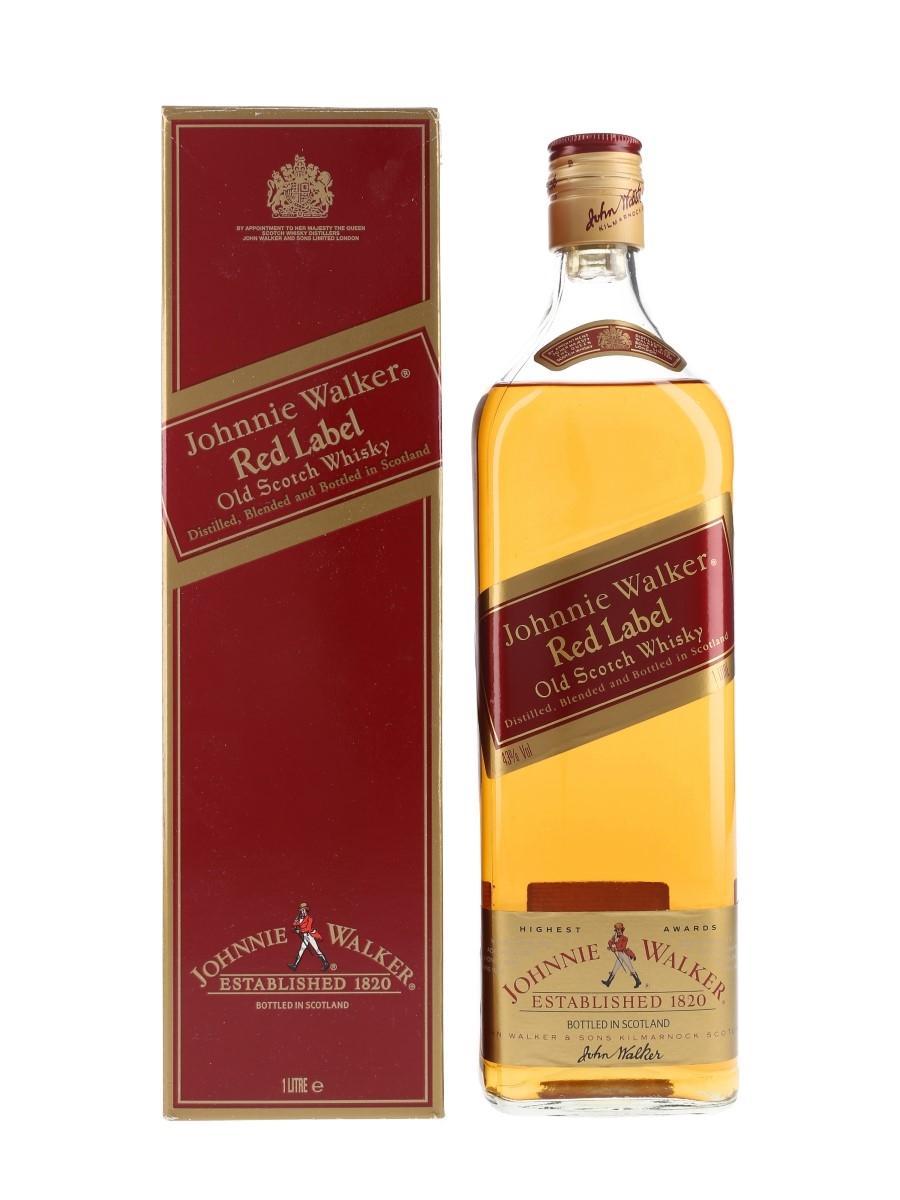 Johnnie Walker Red Label Bottled 1980s 100cl / 43%