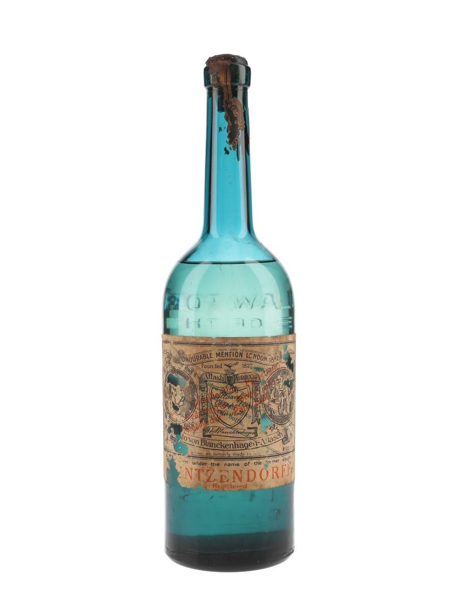 Mentzendorff Creme D'Allash Kummel Bottled 1940s 75cl