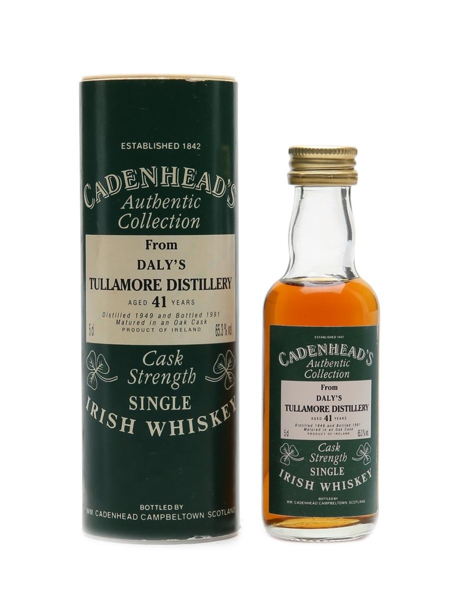 Tullamore 1949 41 Years Old Cadenhead's 5cl / 65.3%