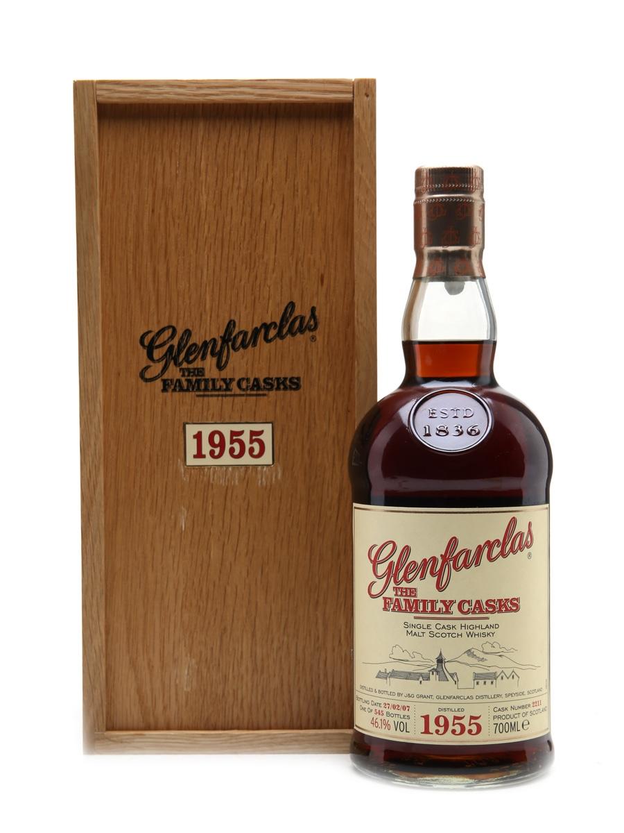Glenfarclas 1955 Family Cask Cask #2211 Bottled 2007 70cl