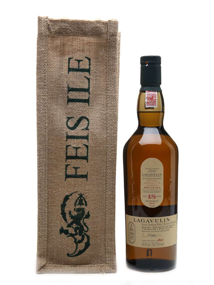 Lagavulin 18 Year Old Feis Ile 2016 - 200th Anniversary 70cl / 49.5%