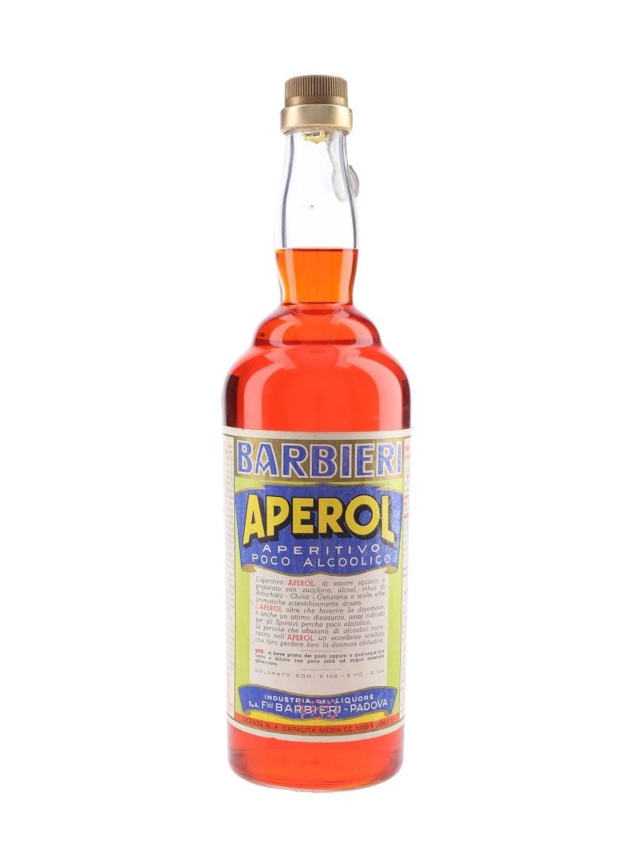 Aperol Barbieri Bottled 1950s 100cl / 11%