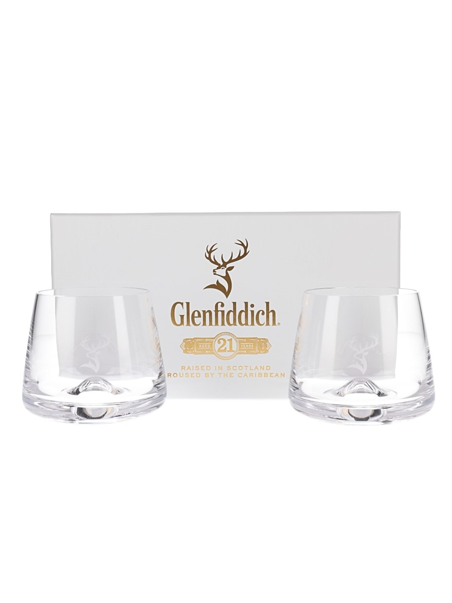 Glenfiddich 21 Year Old Tumblers