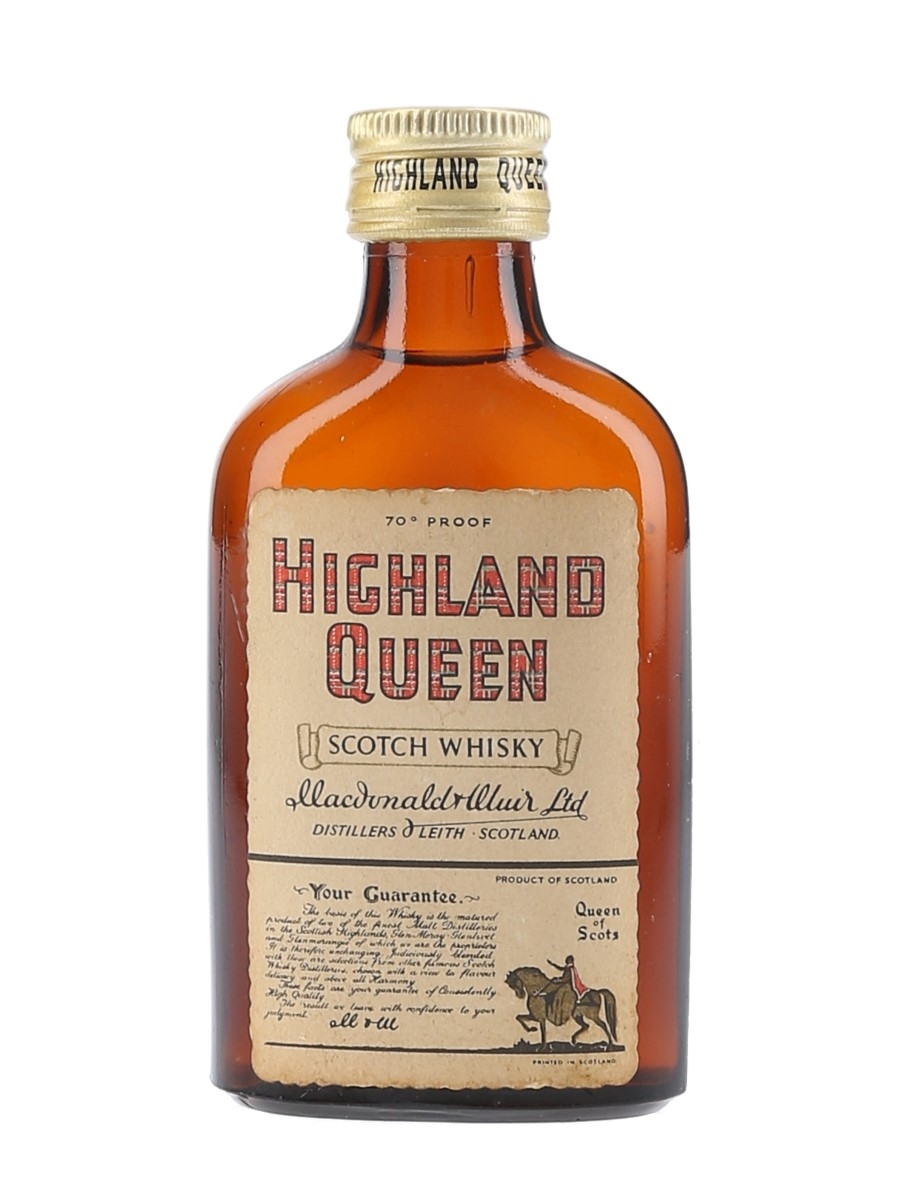 Highland Queen Bottled 1960s 5cl / 40%