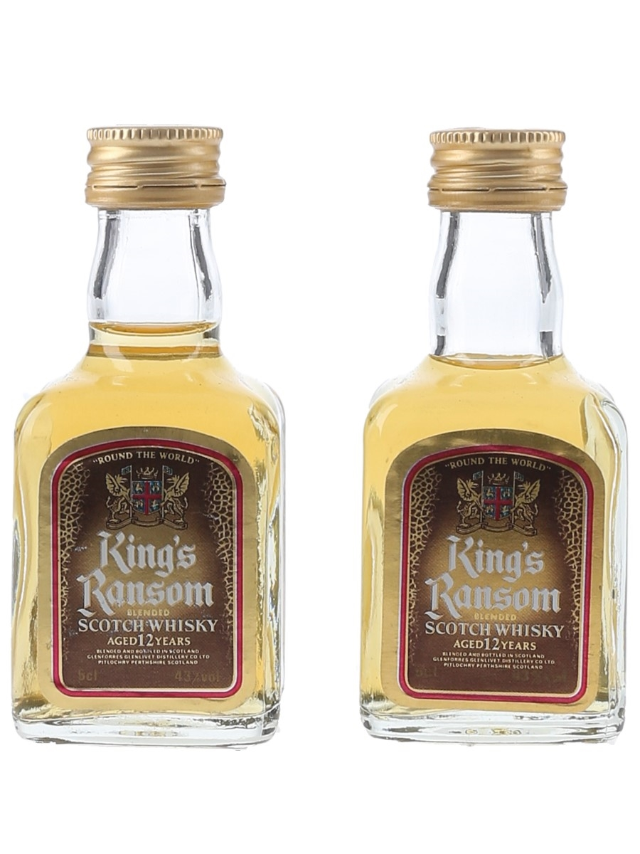 King's Ransom 12 Year Old  2 x 5cl / 43%