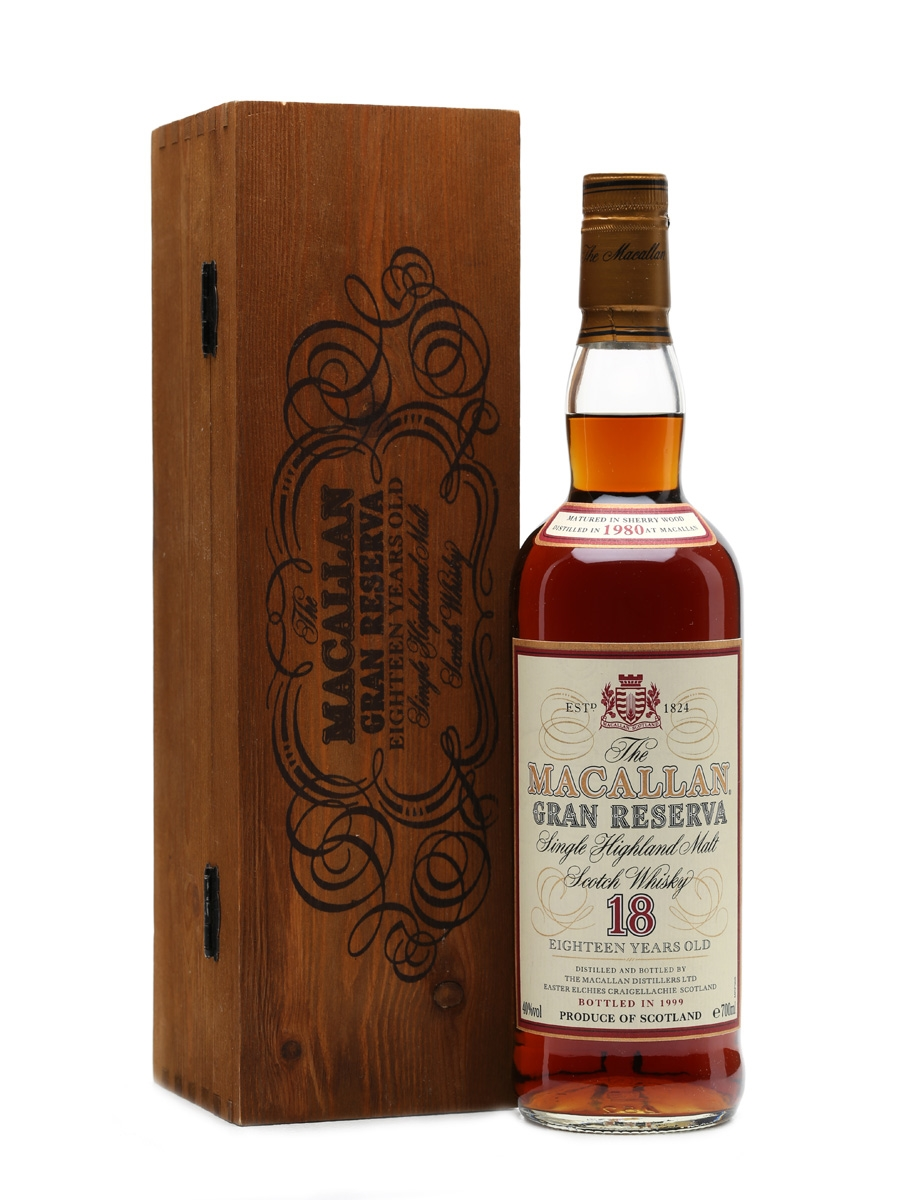 Macallan 1980 18 Years Old Gran Reserva 70cl
