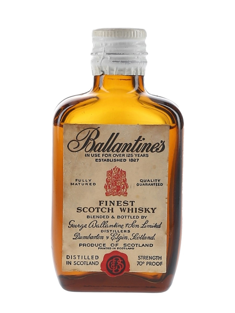 Ballantine's Finest Bottled 1960s 5cl / 40%