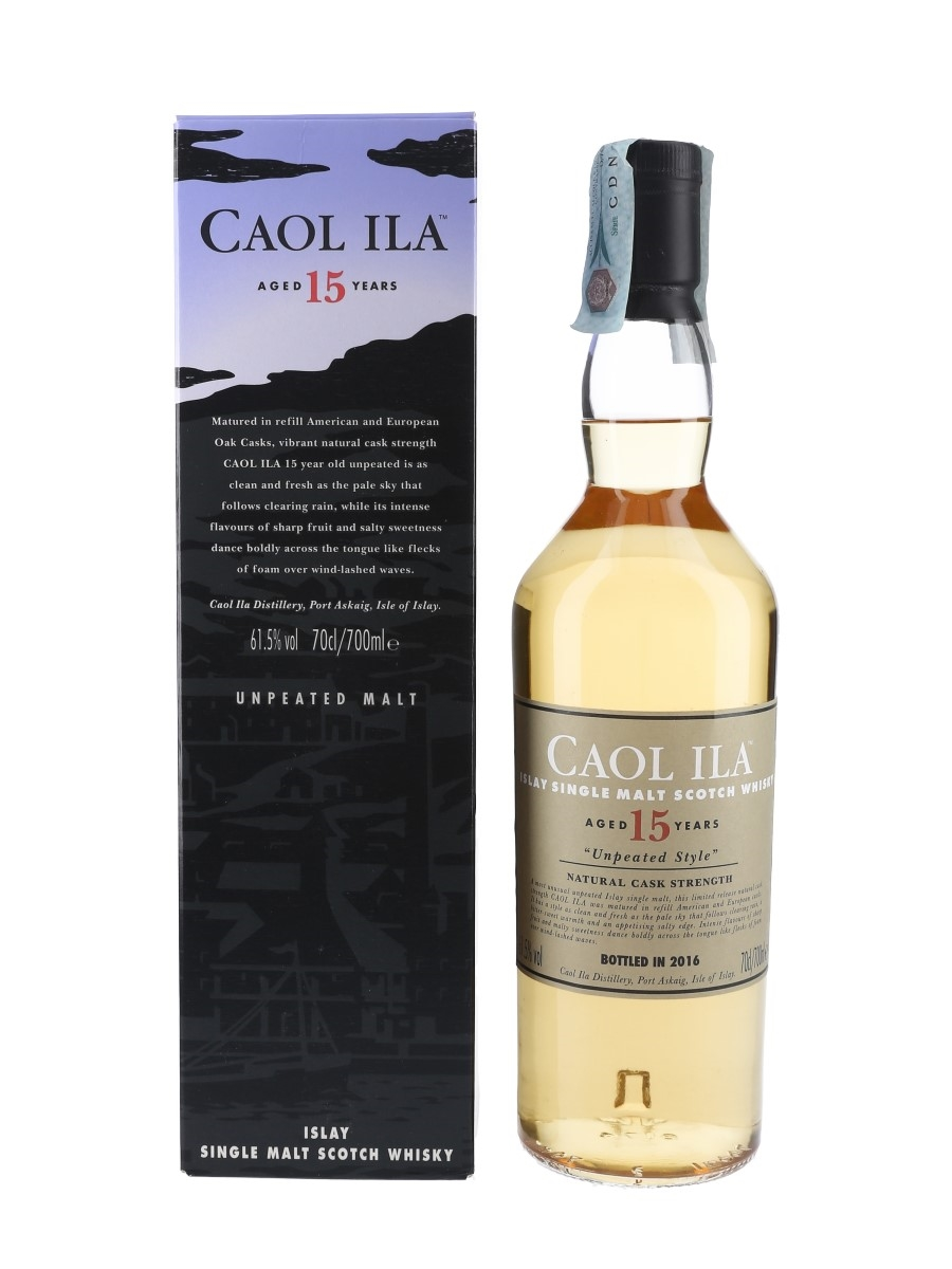 Caol Ila 15 Year Old Unpeated Style Special Releases 2016 70cl / 61.5%