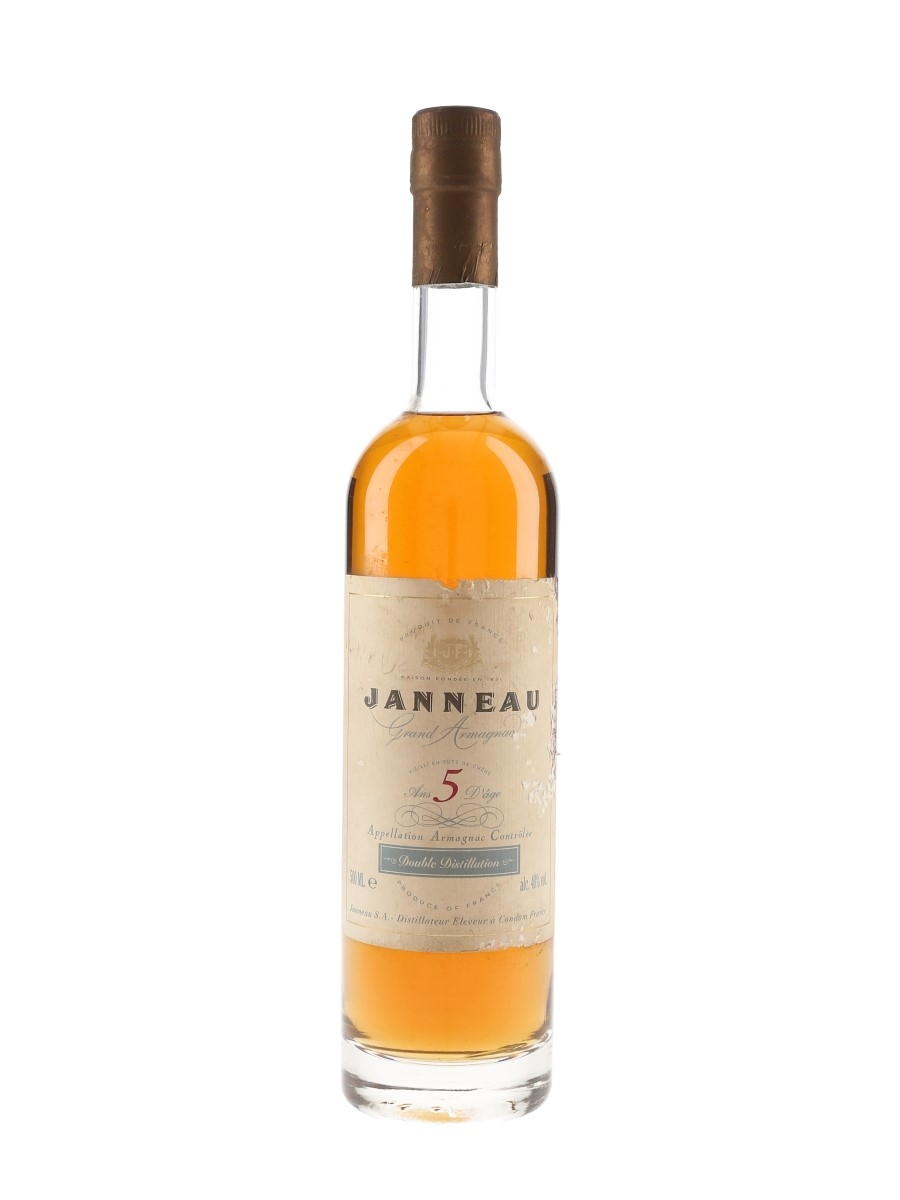 Janneau 5 Year Old Bottled 1990s 50cl / 40%