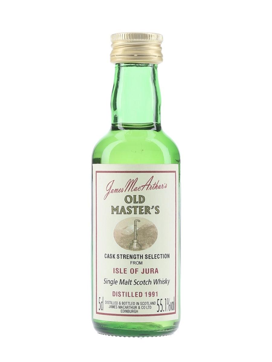 Isle Of Jura 1991 James MacArthur's - Old Master's 5cl / 55.1%