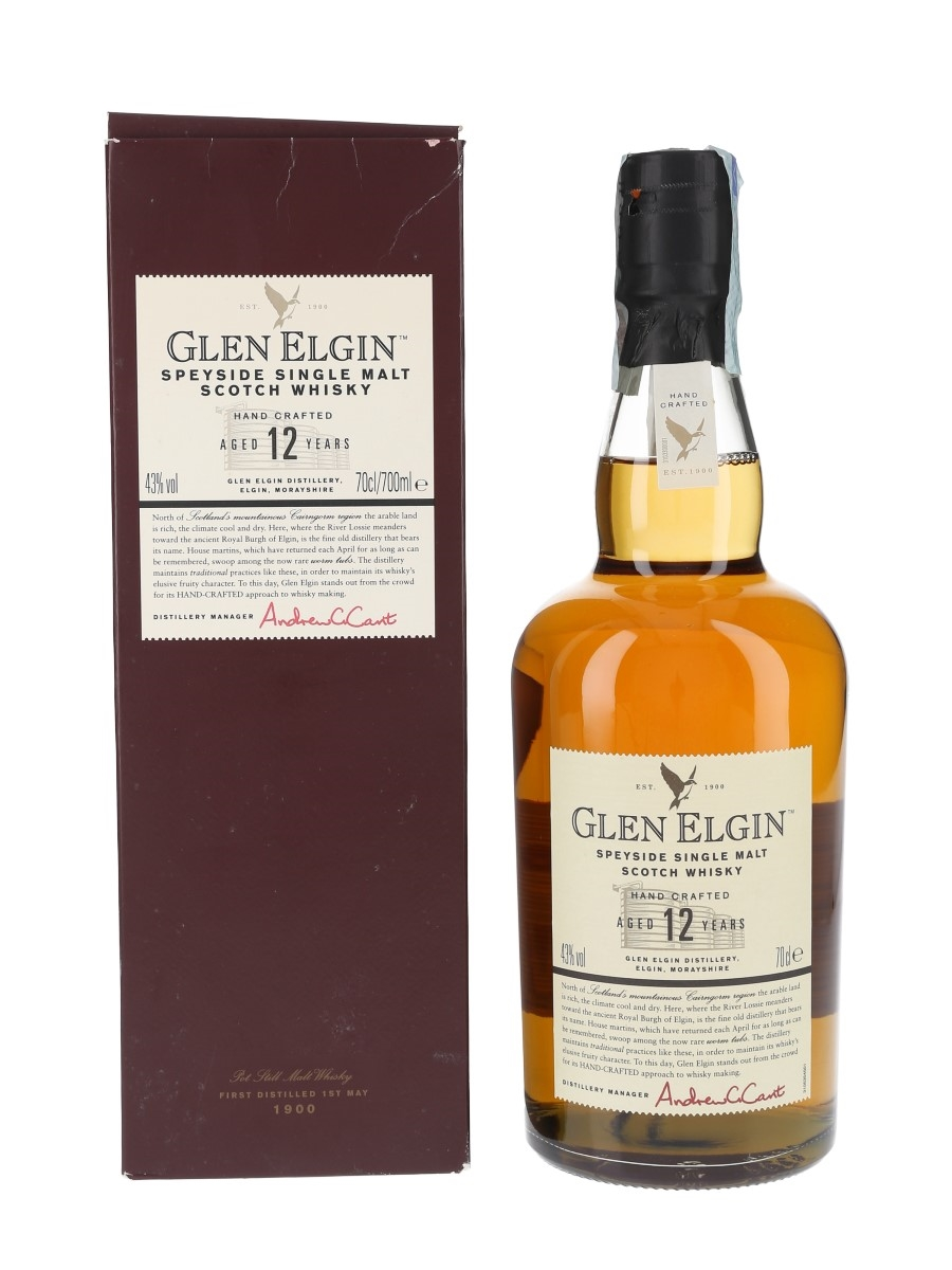 Glen Elgin 12 Year Old  70cl / 43%