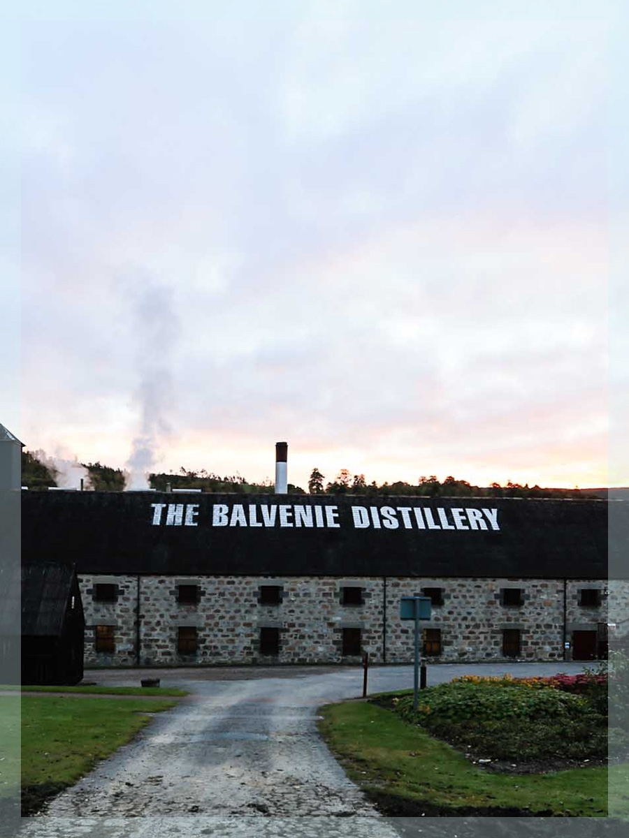 The Balvenie Stories Tour and Tasting The Balvenie Distillery