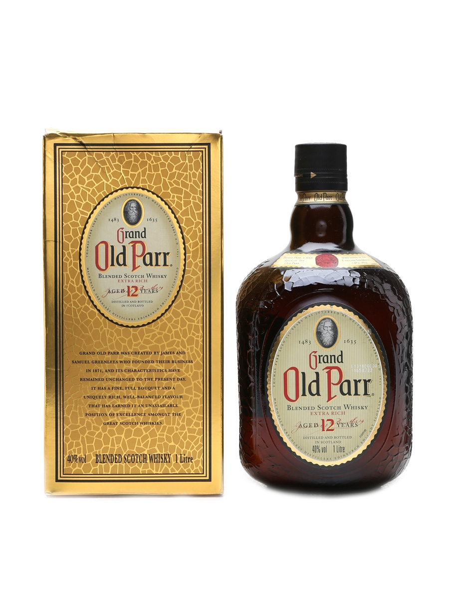 Grand Old Parr Extra Rich 12 Years Old  100cl