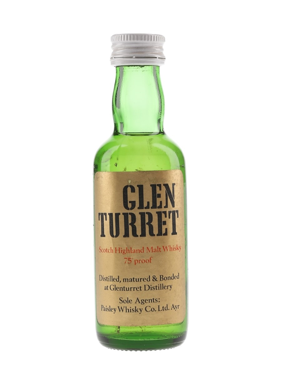 Glenturret Bottled 1970s 5cl / 43%