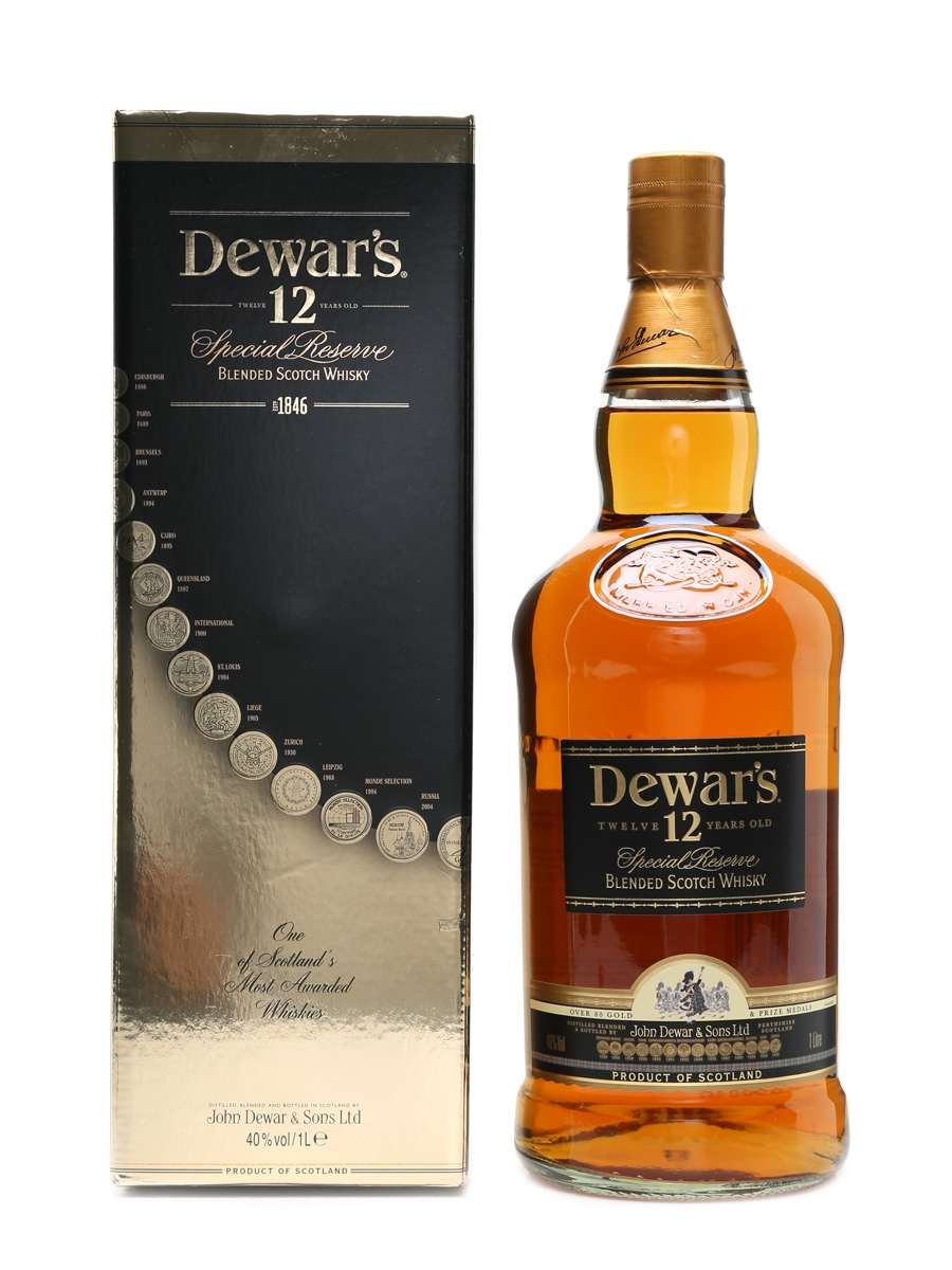 Dewar's 12 Year Old Special Reserve  100cl