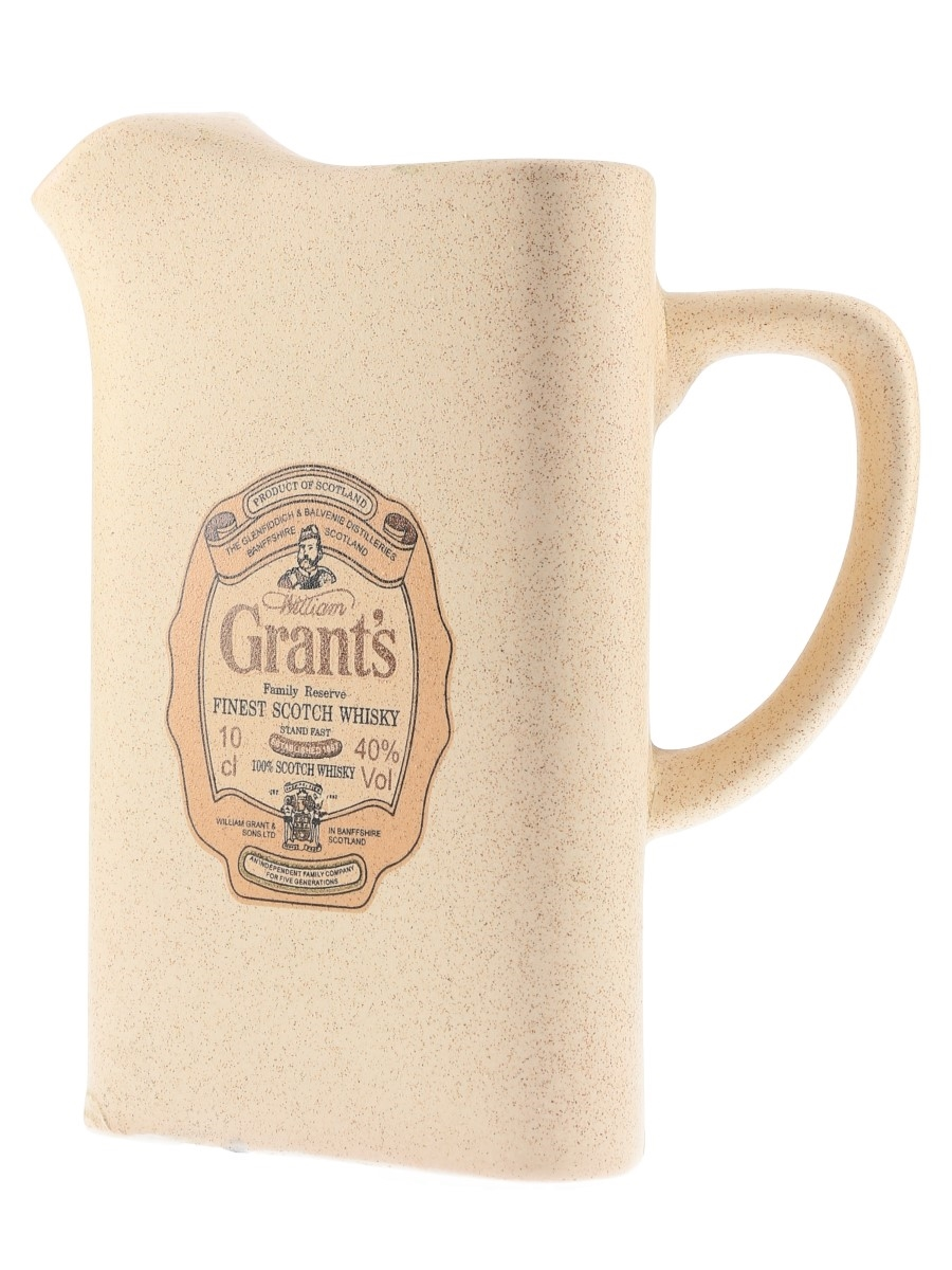 Grant's Family Reserve Water Jug  16.5cm Tall