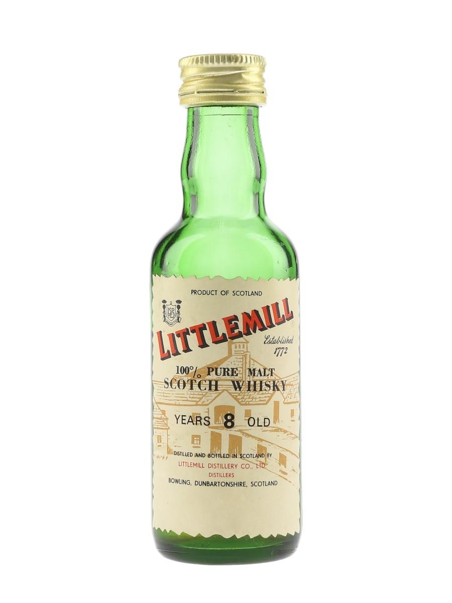 Littlemill 8 Year Old Bottled 1980s 5cl