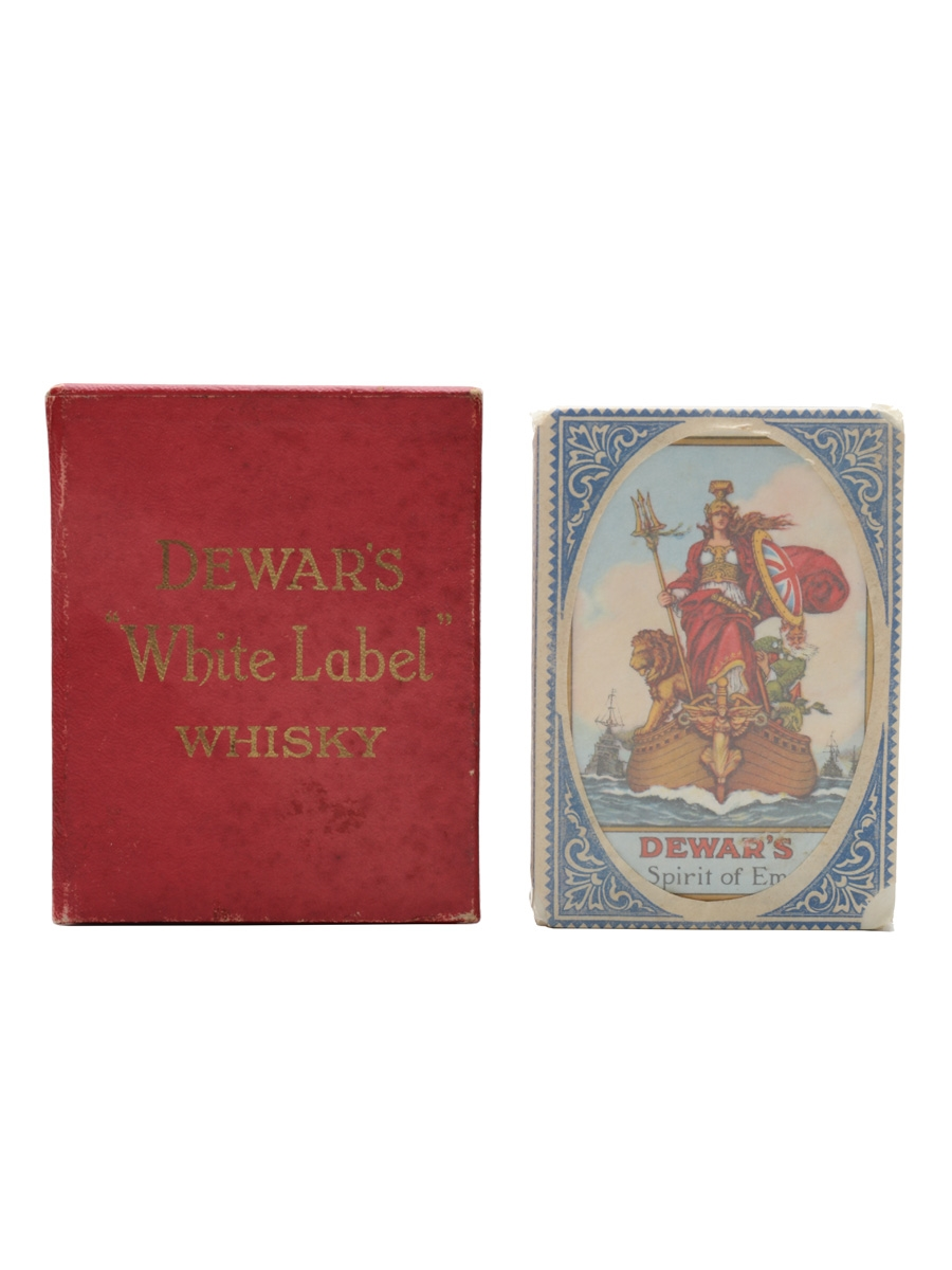 Dewar's White Label Whisky The Spirit of Empire Playing Cards Sealed Pack
