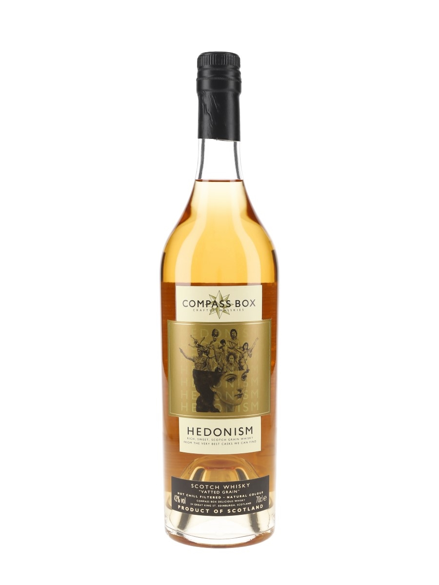 Compass Box Hedonism Bottled 2002 70cl / 43%