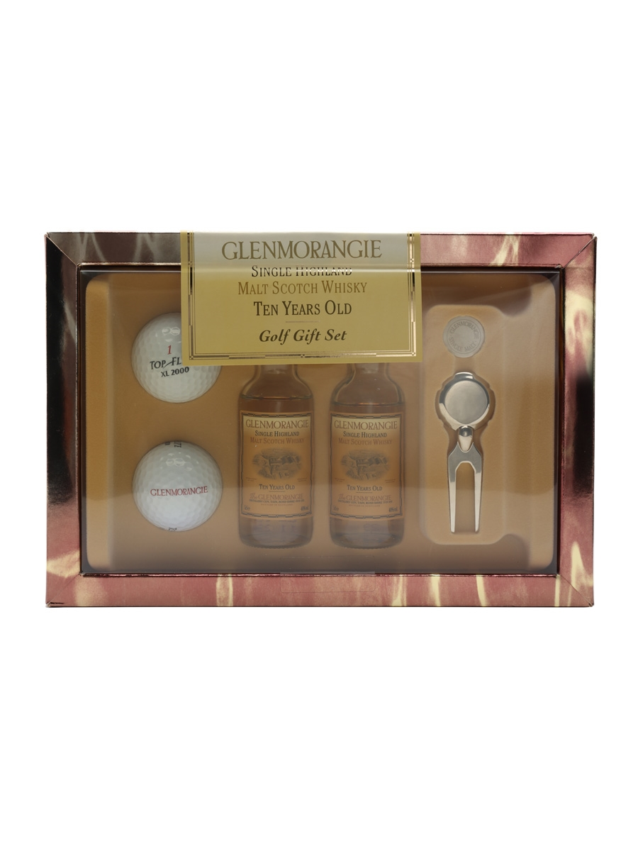 Glenmorangie 10 Year Old Golf Gift Set  2 x 5cl / 40%