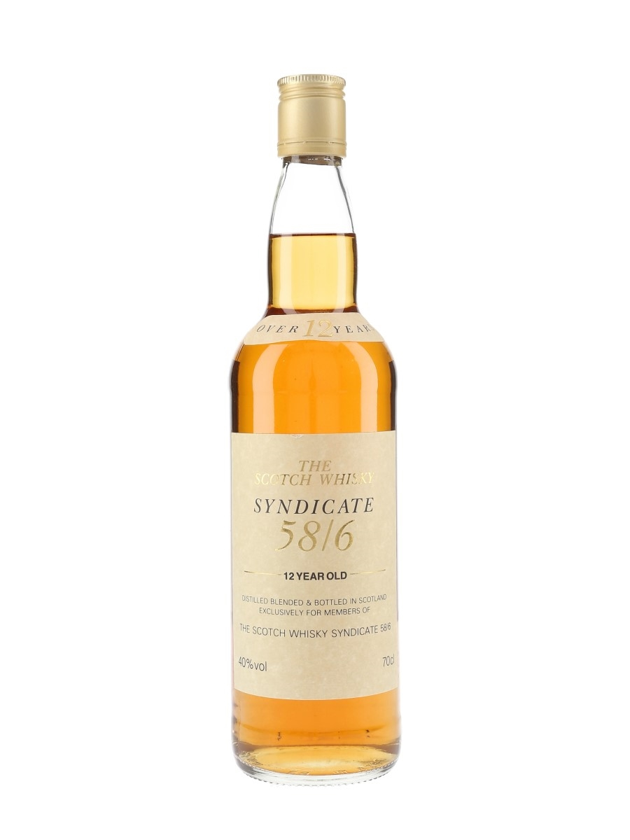 Syndicate 58-6 12 Year Old  70cl / 40%