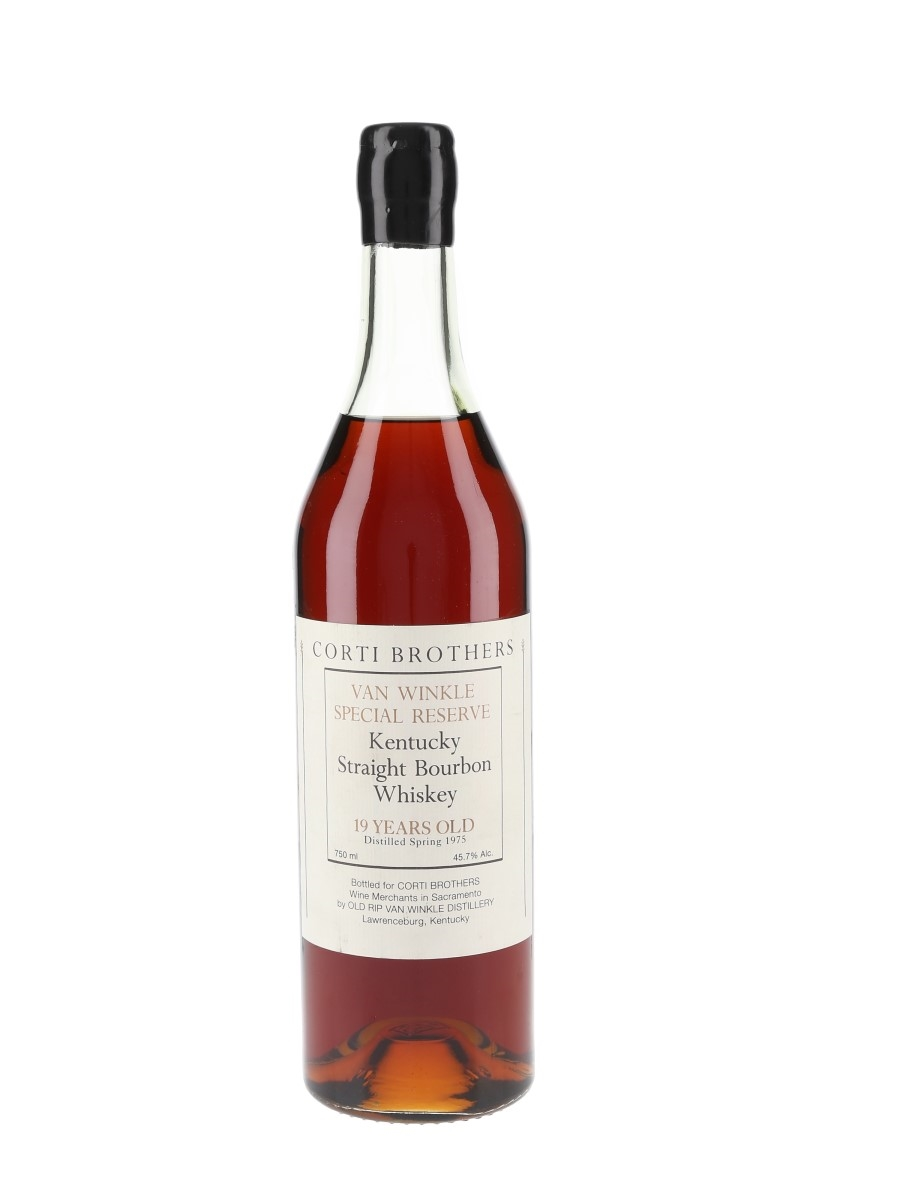 Van Winkle Special Reserve 1975 19 Year Old Corti Brothers - Stitzel-Weller 75cl / 45.7%