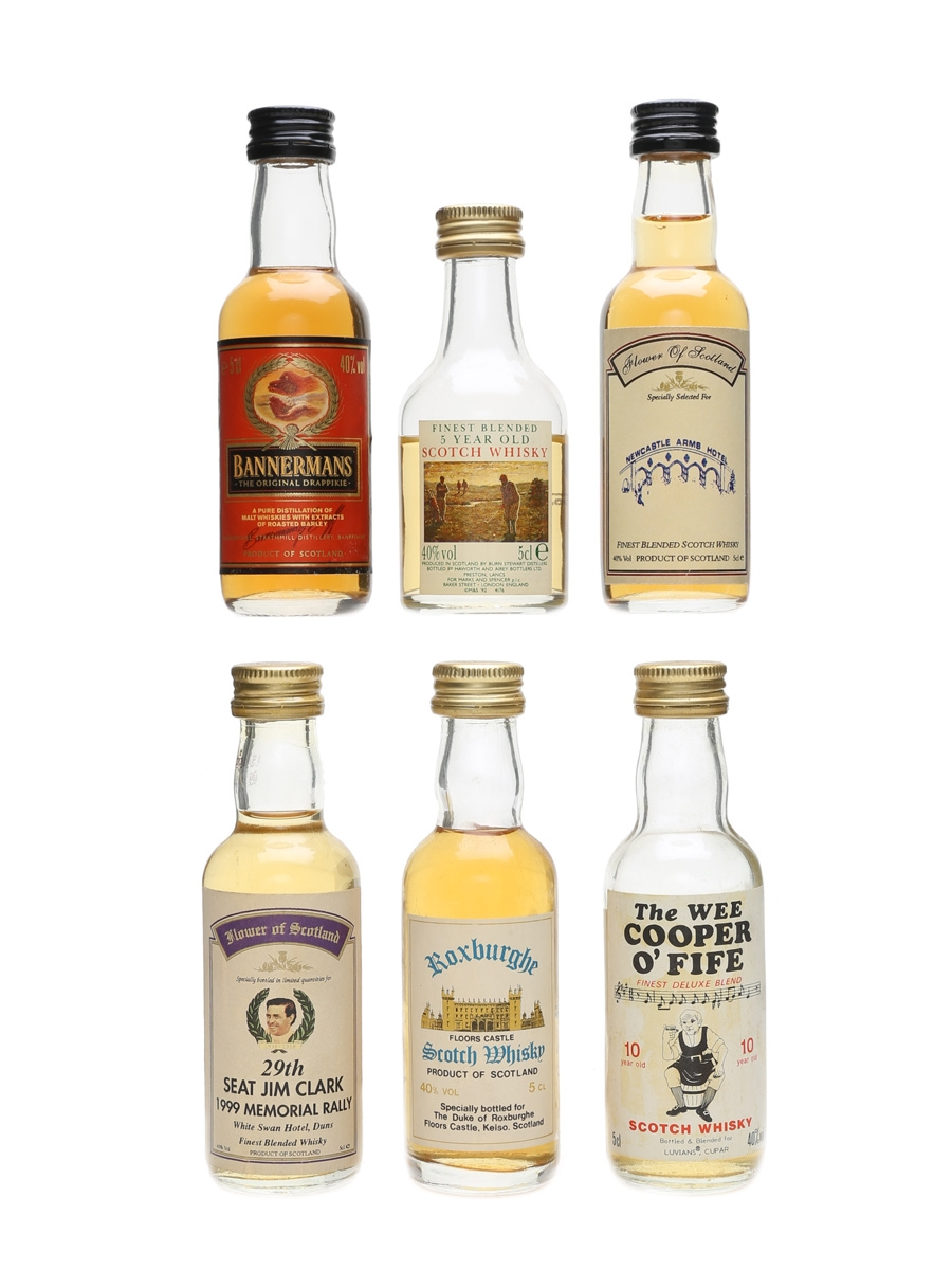 Assorted Blended Scotch Whisky  6 x 5cl