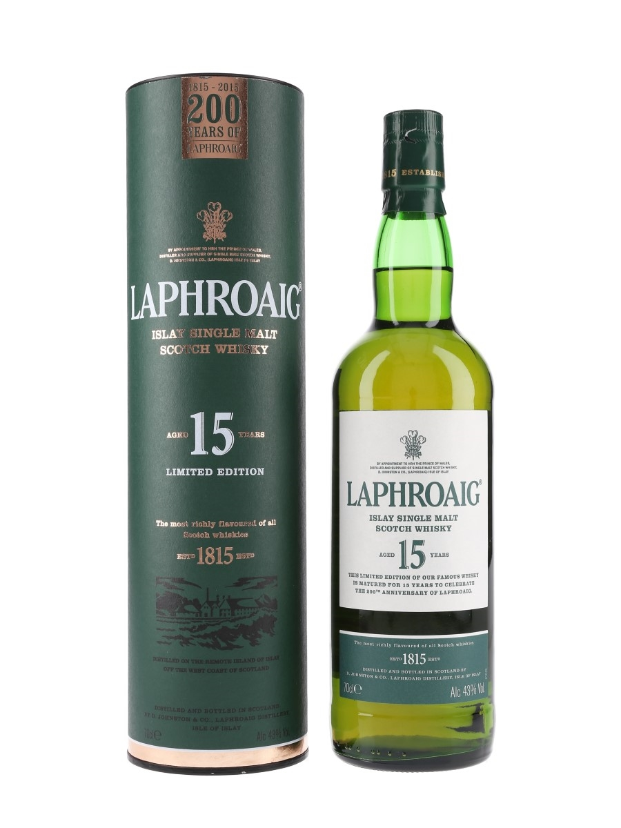 Laphroaig 15 Year Old 200th Anniversary 70cl / 43%