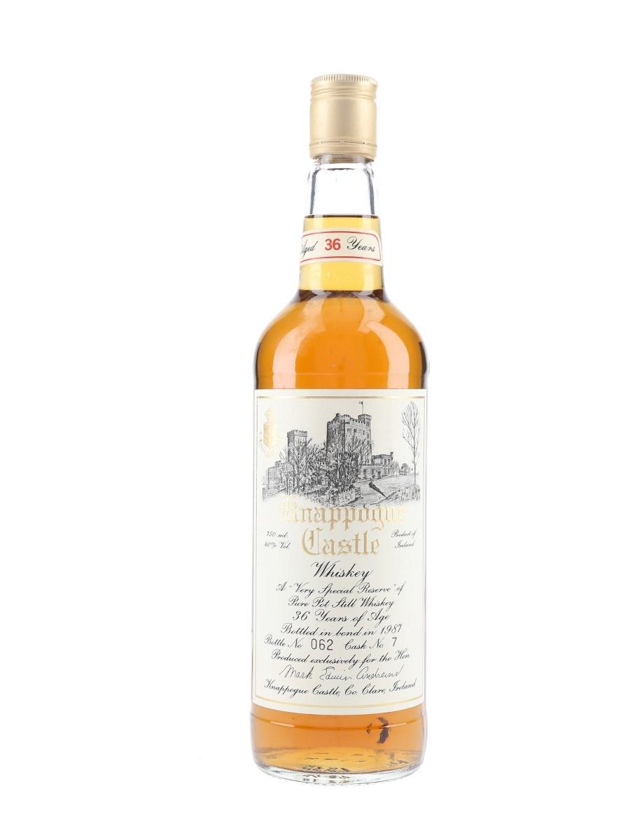 Knappogue Castle 36 Year Old Cask 7 Bottled 1987 75cl / 40%