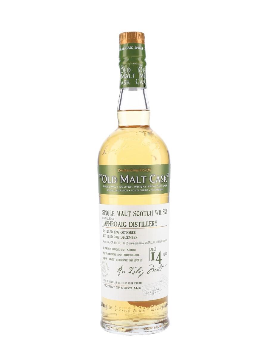 Laphroaig 1998 14 Year Old The Old Malt Cask Bottled 2012 - Douglas Laing 70cl / 50%