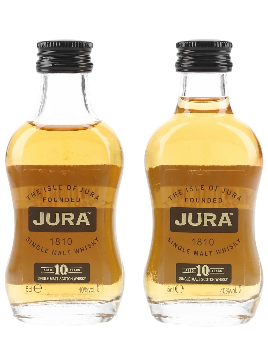 Jura 10 Year Old Bottled 2010 2 x 5cl / 40%