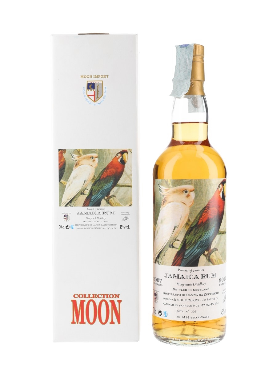 Monymusk 2007 Jamaica Rum Bottled 2017 - Moon Import 70cl / 45%