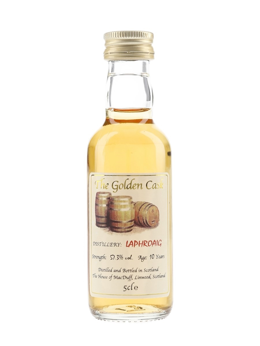 Laphroaig 10 Year Old The Golden Cask 5cl / 57.3%