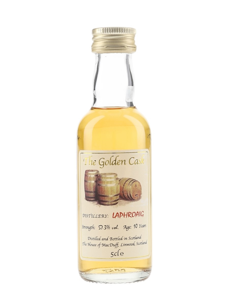 Laphroaig 10 Year Old The Golden Cask 5cl / 57.3%