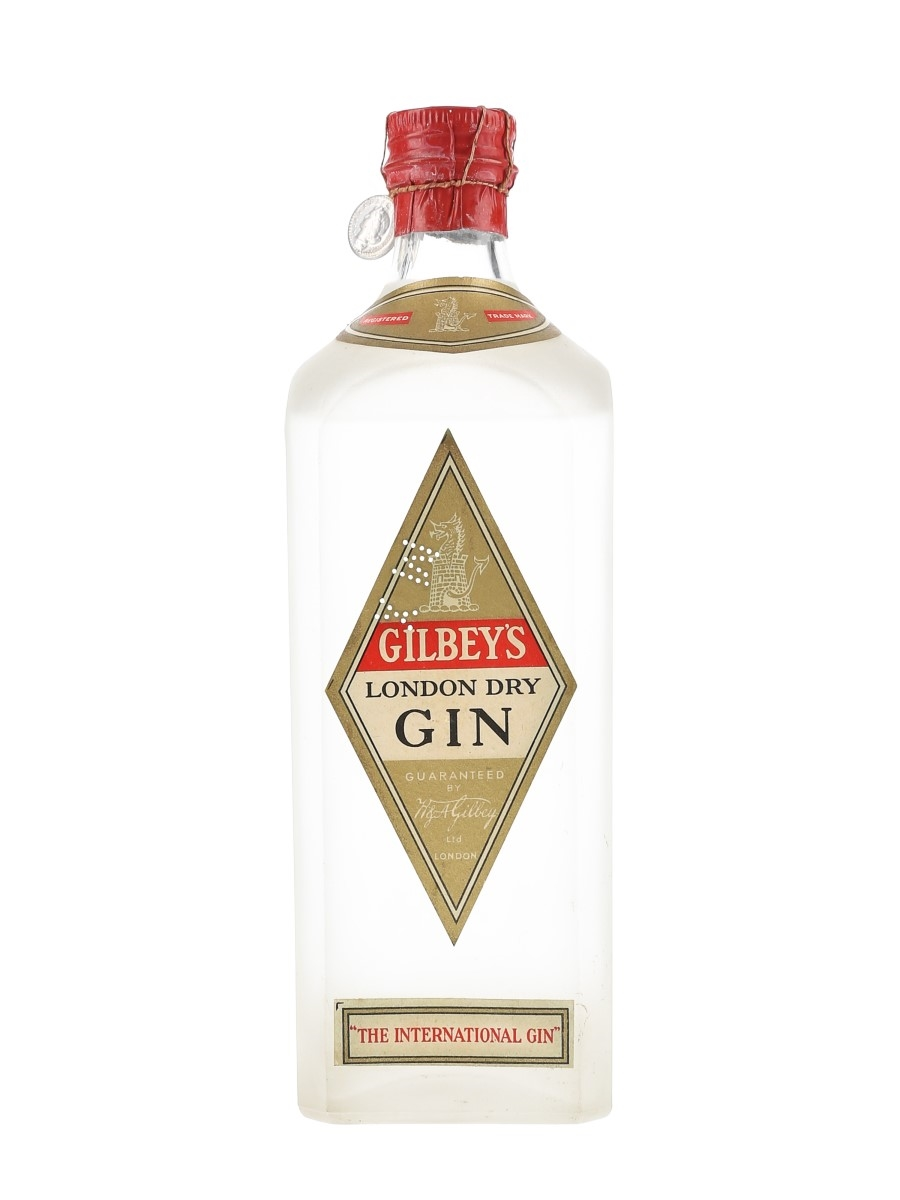 Gilbey's London Dry Gin Bottled 1947-1949 - Cinzano 75cl / 46.2%