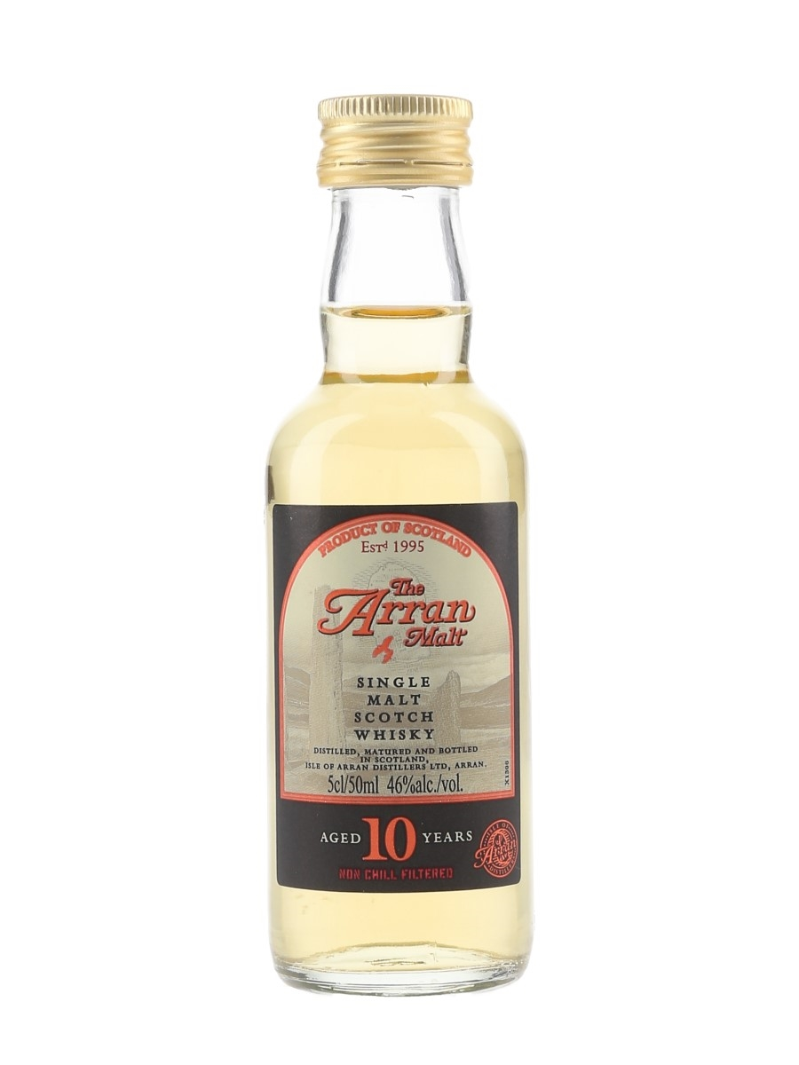 Arran 10 Year Old Old Presentation 5cl / 46%