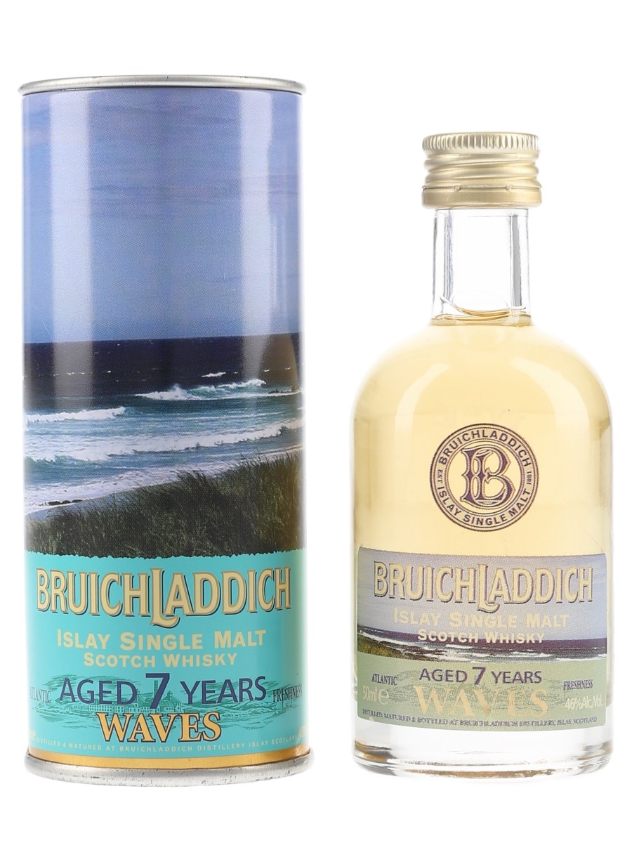 Bruichladdich Waves 7 Year Old  5cl / 46%