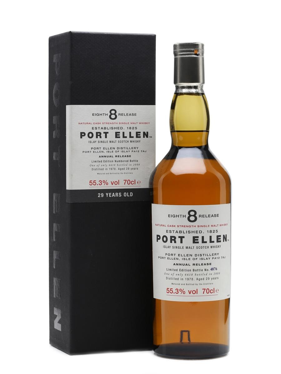 Port Ellen 1978 - 8th Release 29 Years Old 70cl