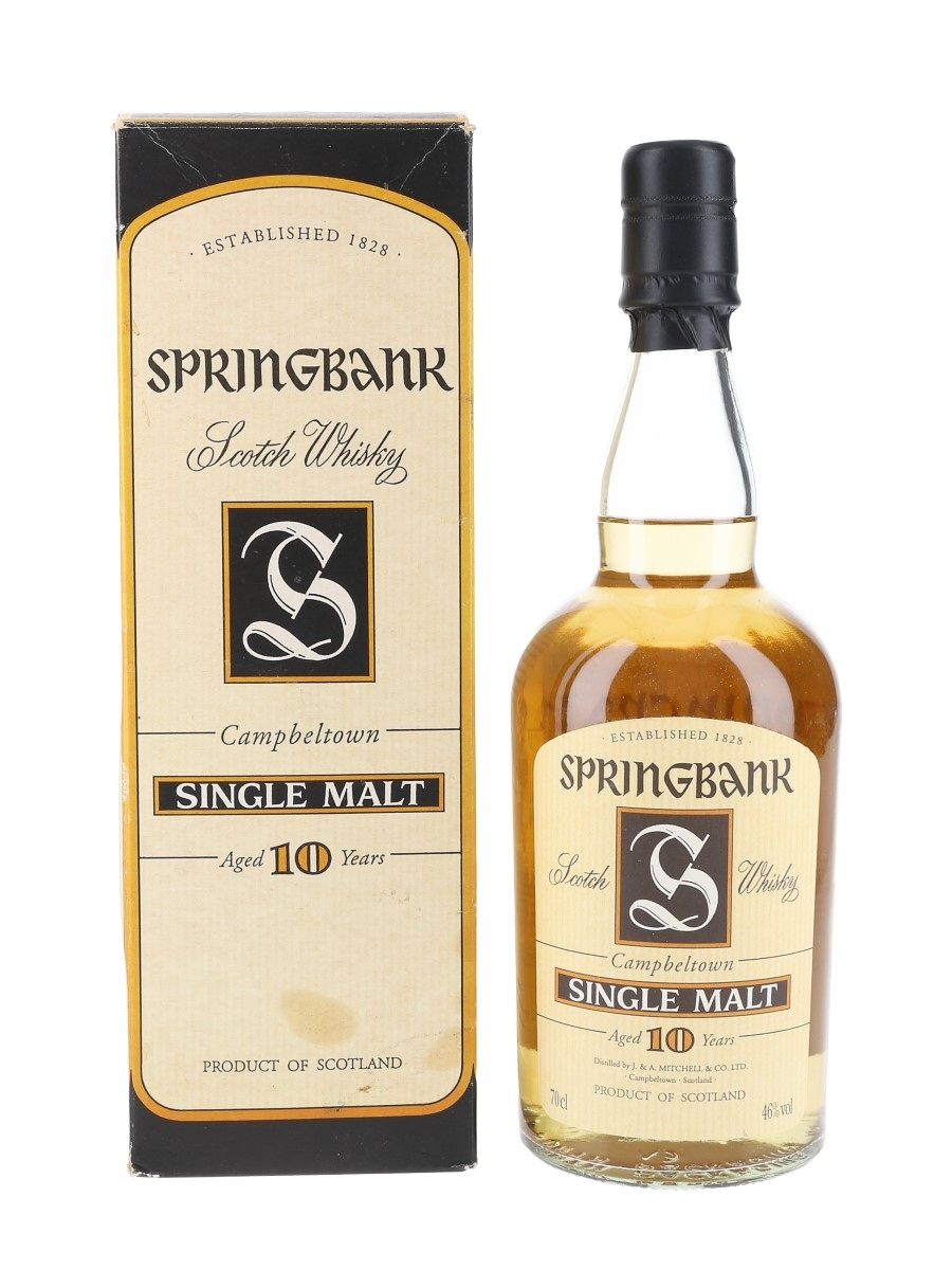 Springbank 10 Year Old Bottled 2000s 70cl / 46%