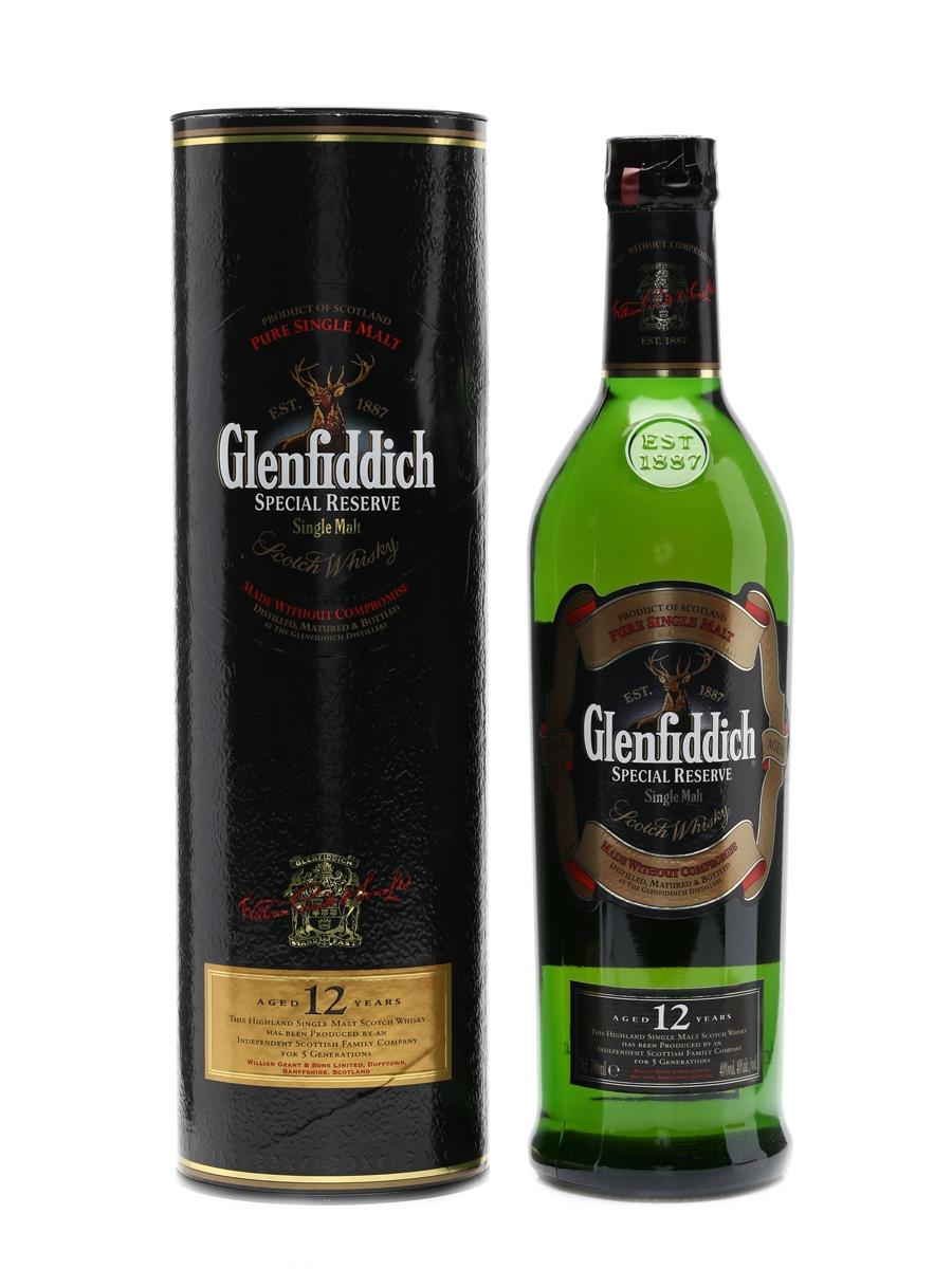 Glenfiddich 12 Year Old Old Presentation 70cl